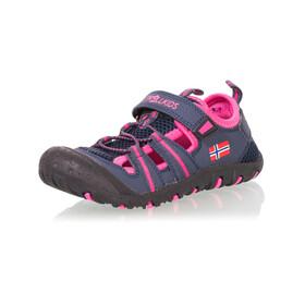 TROLLKIDS Sandefjord Sandaler Børn, pink/blå